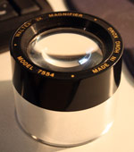 The 3X magnifier lens